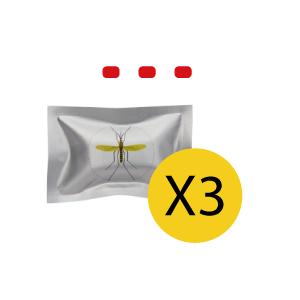 Recharge pastille Octenol Lurex pour appareil anti moustiques ZEROMOUSTIQUE